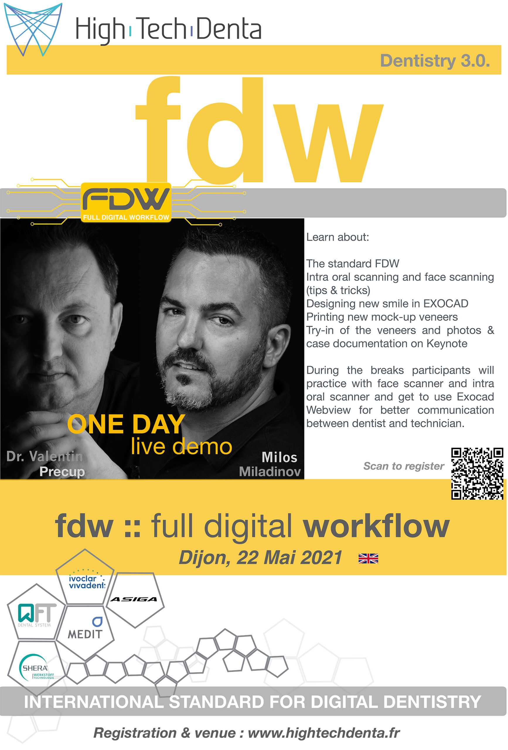 FDW - Full Digital Workflow - Functional design, mockup, printing